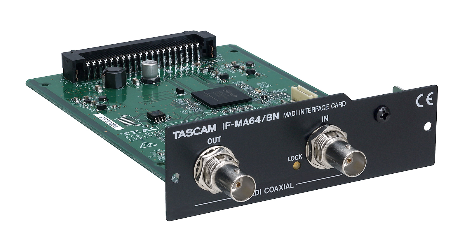 Tascam IF-MA64BN Madi interface kort BNC coax til DA-6400