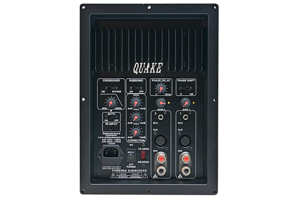 Image of   IQ-1500R Earthquake subwoofer plate-amp