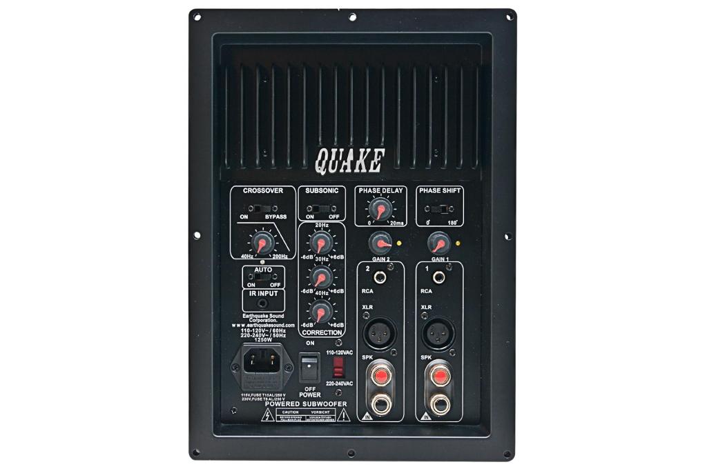 Billede af IQ-1500R Earthquake subwoofer plate-amp