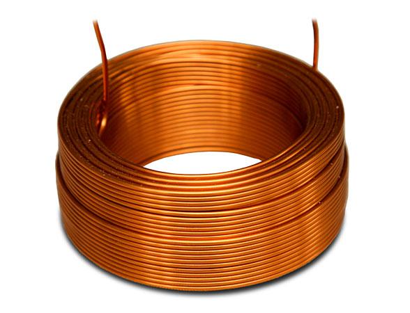 Billede af 1,00 mH Luftspole 0,550 ohm +/- 3 % 1,00 mm tråd