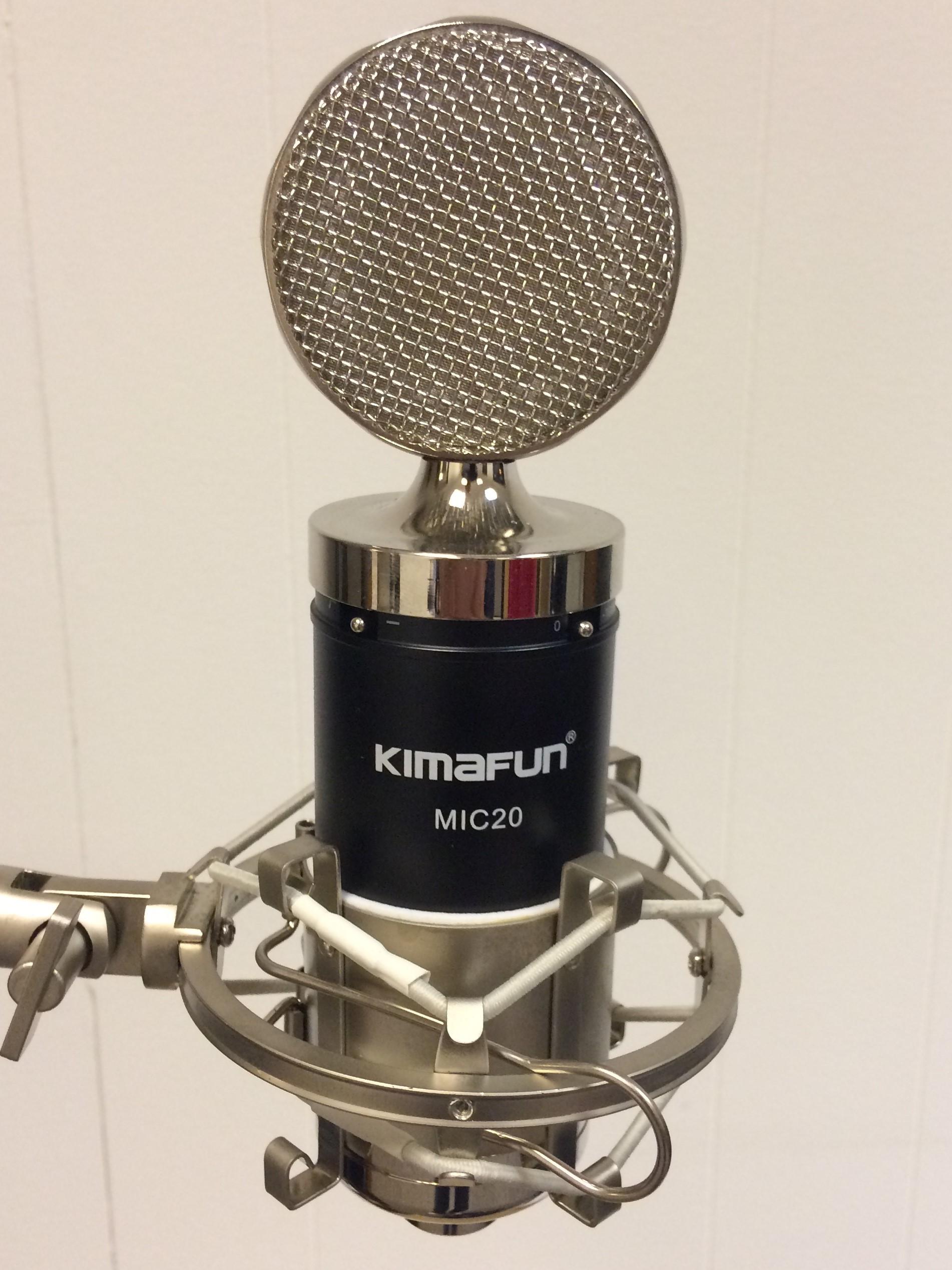 Large Diaphragm condenser MIC20 professionel kondensator mikrofon