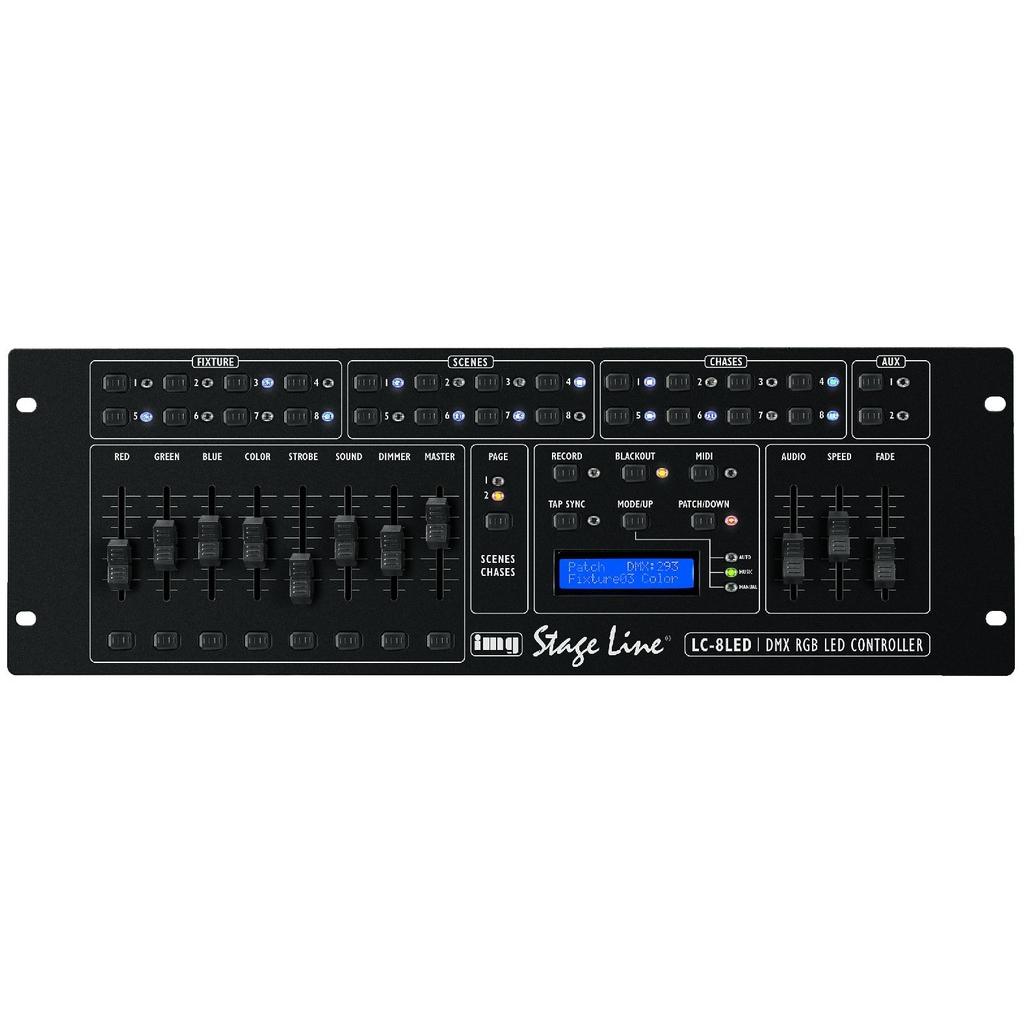 DMX controller – LC-8LED