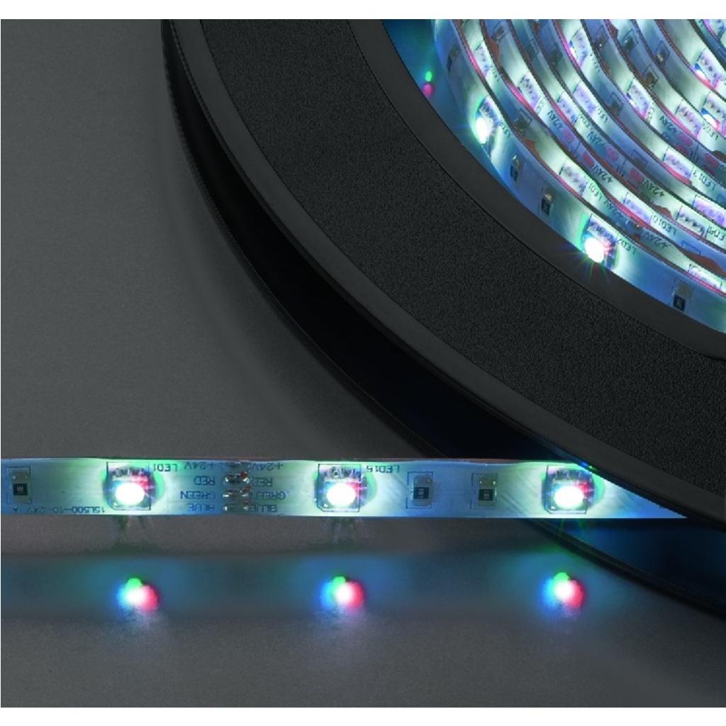 LED Lysslange 3 farvet 10 meter 300 dioder - LEDS-10MP/RGB