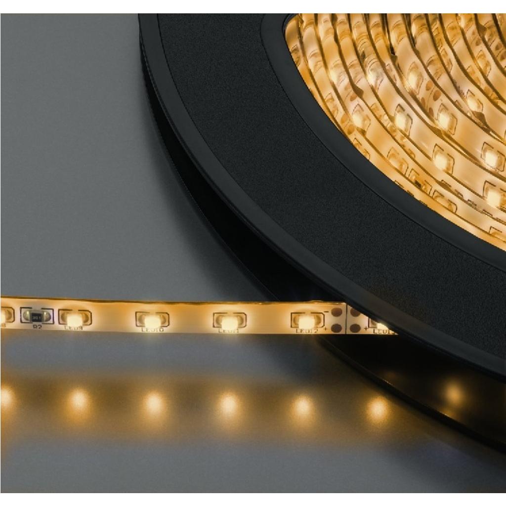 LED Lysslange varm hvid 10 meter 600 dioder - LEDS-10MP/WWS
