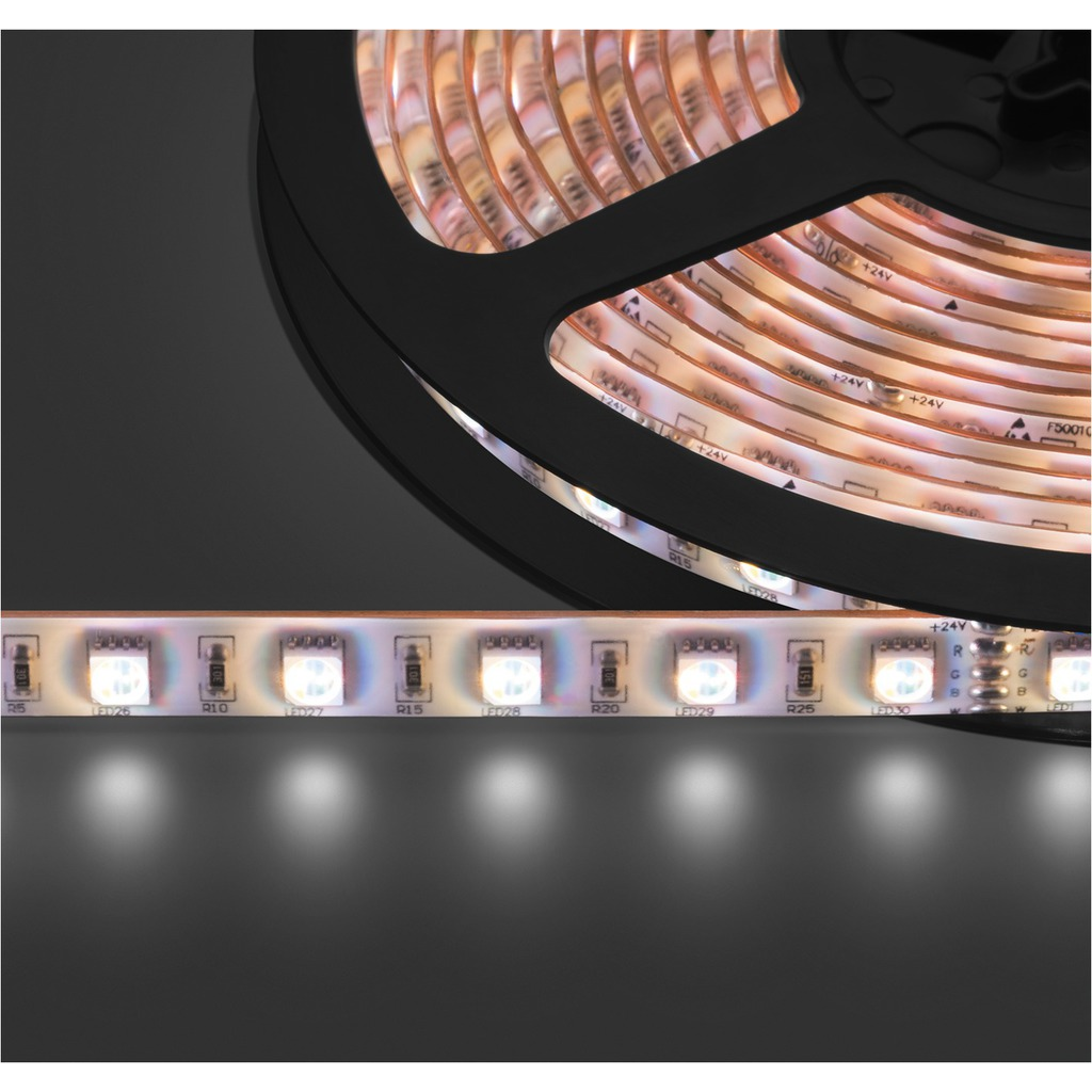 Billede af LED lysslange RGB LED-strip RGBW 24V 5m - LEDS-5MP/RGBW