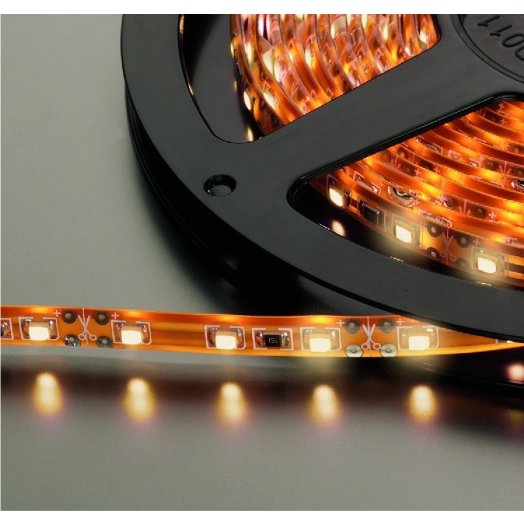 LED Lysslange varm hvid 5 meter 330 dioder - LEDS-5MP/WWS