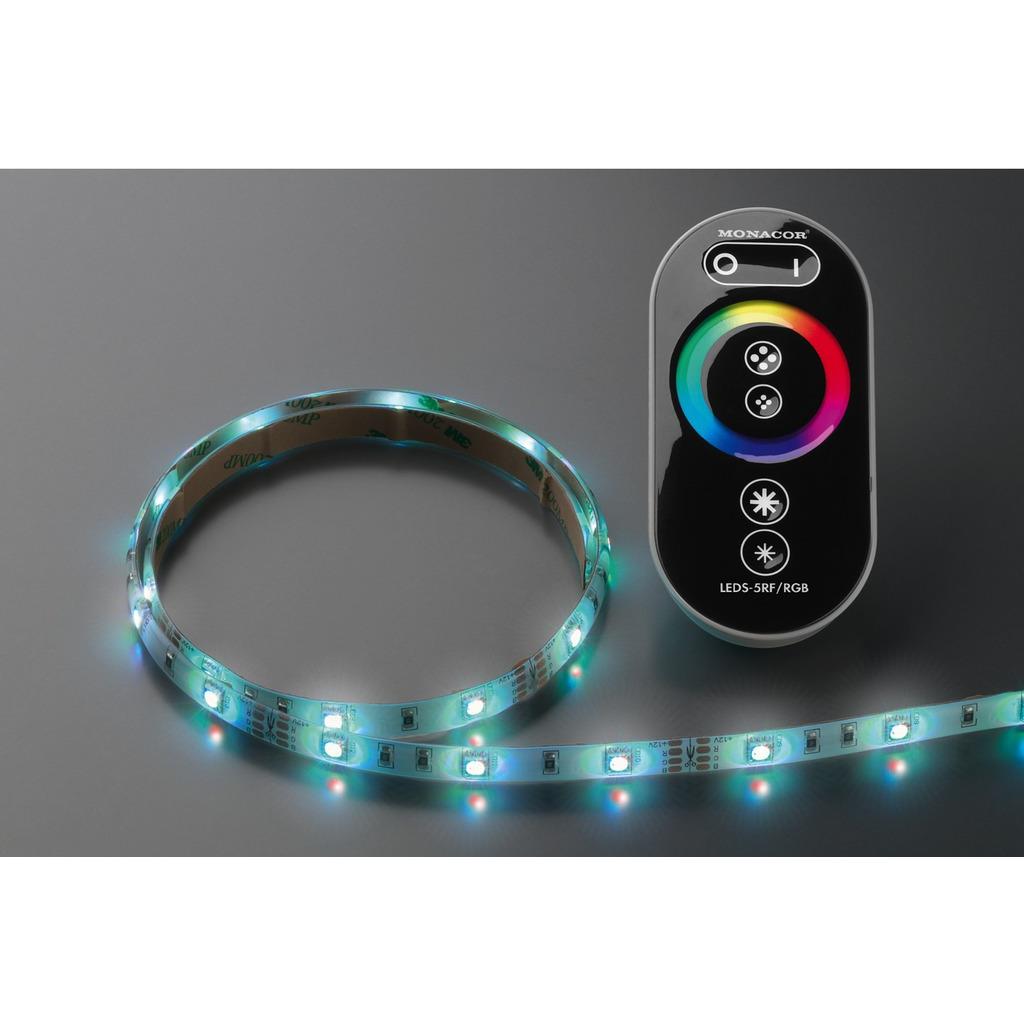 Lysslange sæt RGB 5m 150 RGB LED
