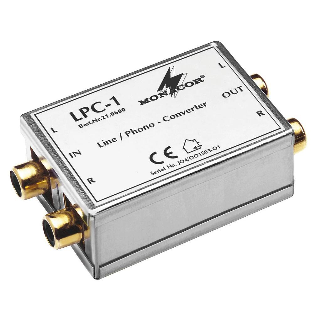 Billede af LPC-1 Line/phono-adapter