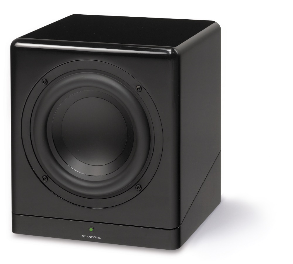 Image of   SCANSONIC M8 AKTIV SUBWOOFER - SORT