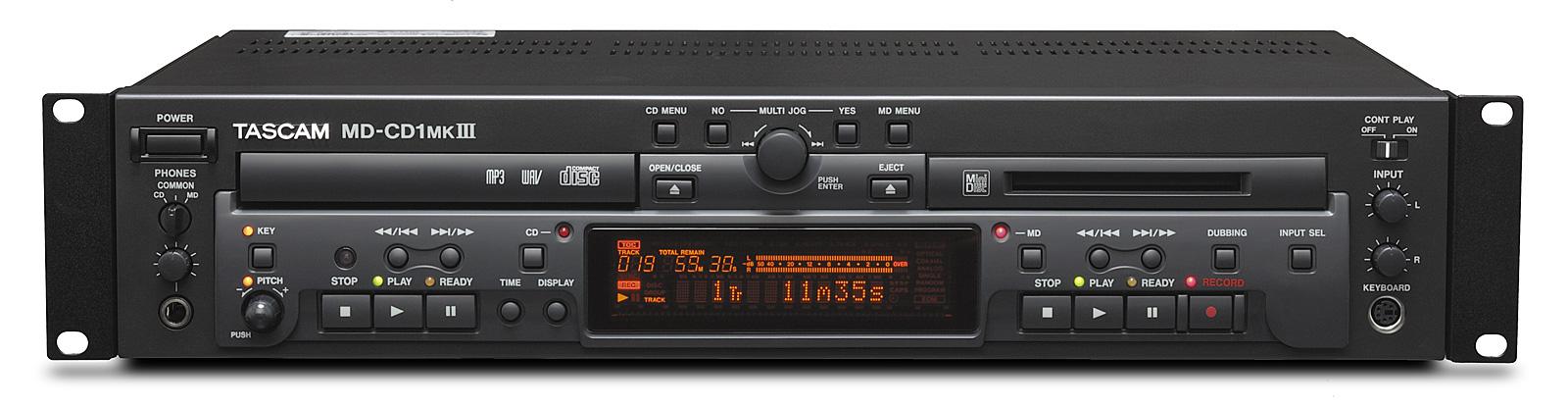 Tascam MD-CD1mk3 mini disk CD afspiller