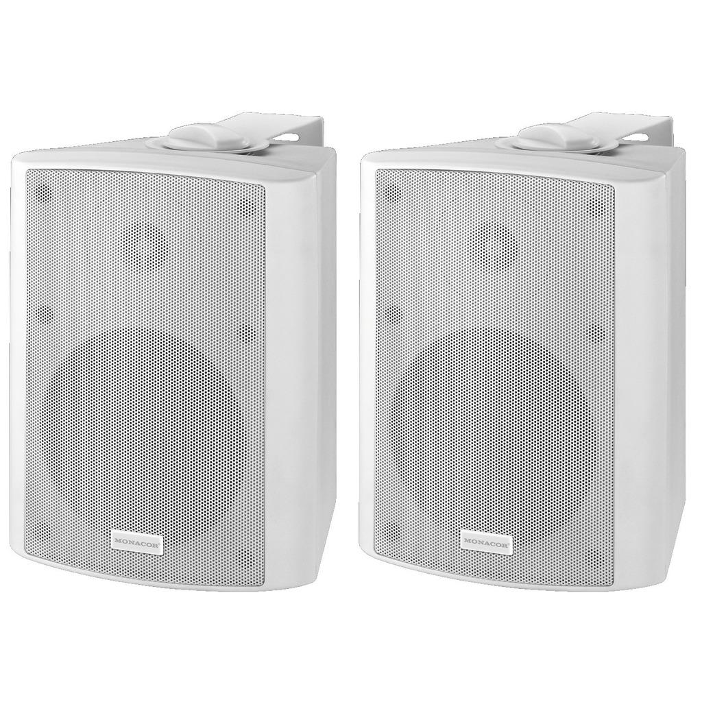 Aktiv højttaler sæt hvid - MKA-50SET/WS