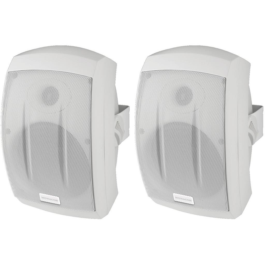 2 Vejs udendørs Højttaler IP-55 hvide - MKS-232/WS