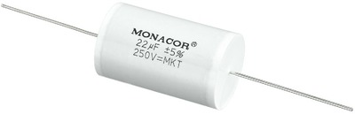 22 uF Monacor MKT thumbnail