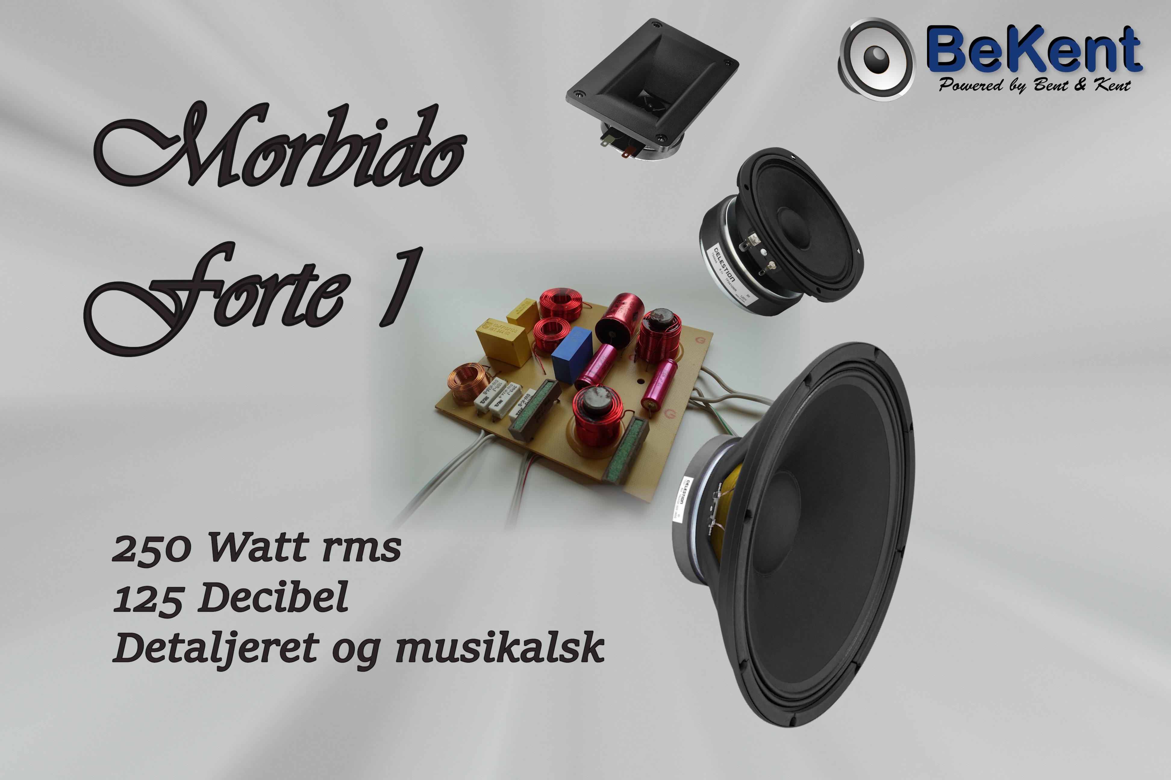 Morbido Forte 1 højttaler system forslag thumbnail