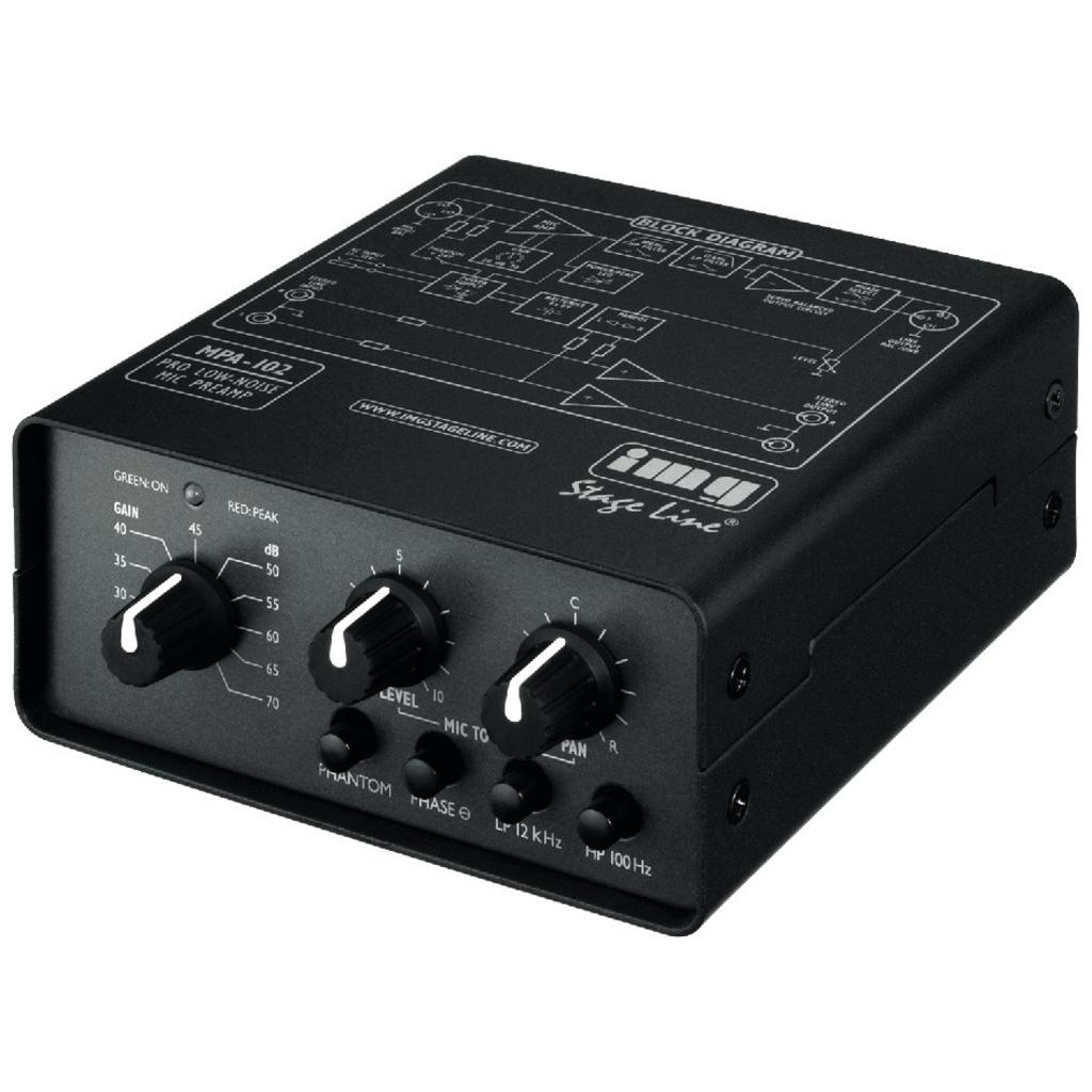 Mikrofonforstærker - MPA-102