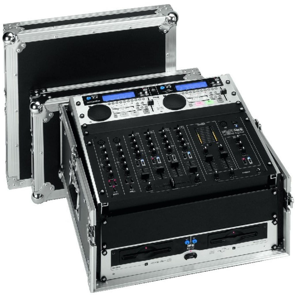 Image of   MR-104DJ Flightcase 10+4U