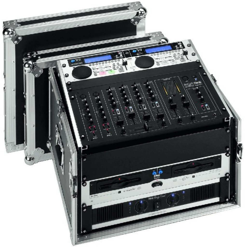 Image of   MR-106DJ Flightcase 10+6U
