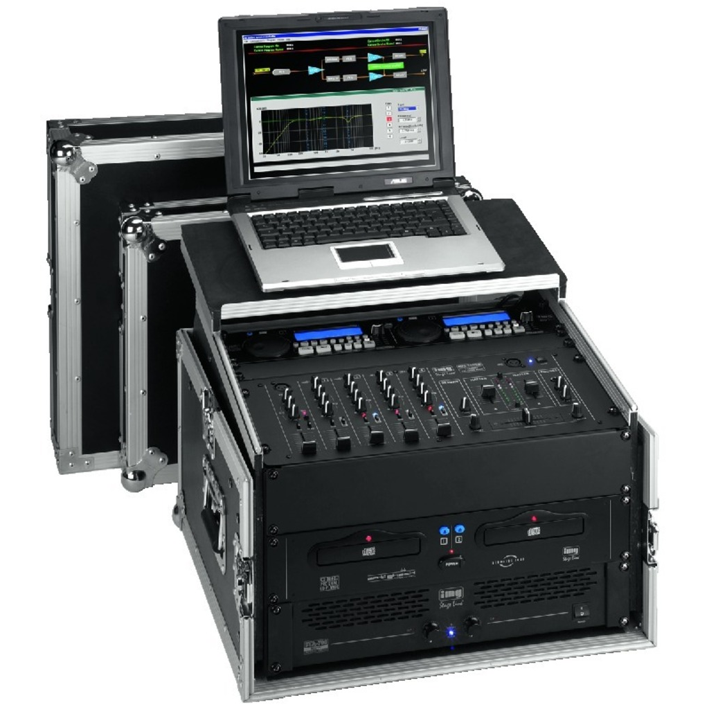 Image of   MR-106PC DJ-Flightcase
