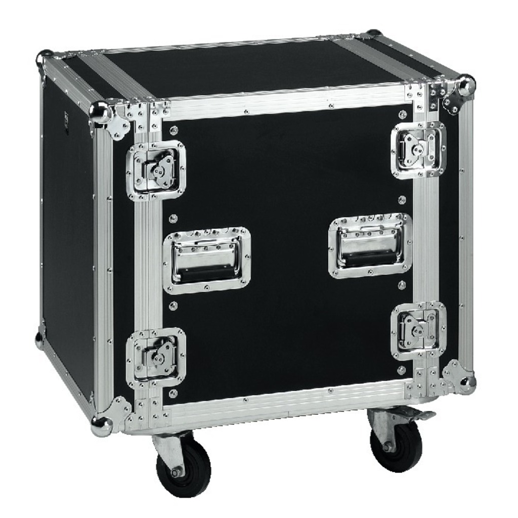Image of   Flightcase 12U Rack på hjul - MR-712