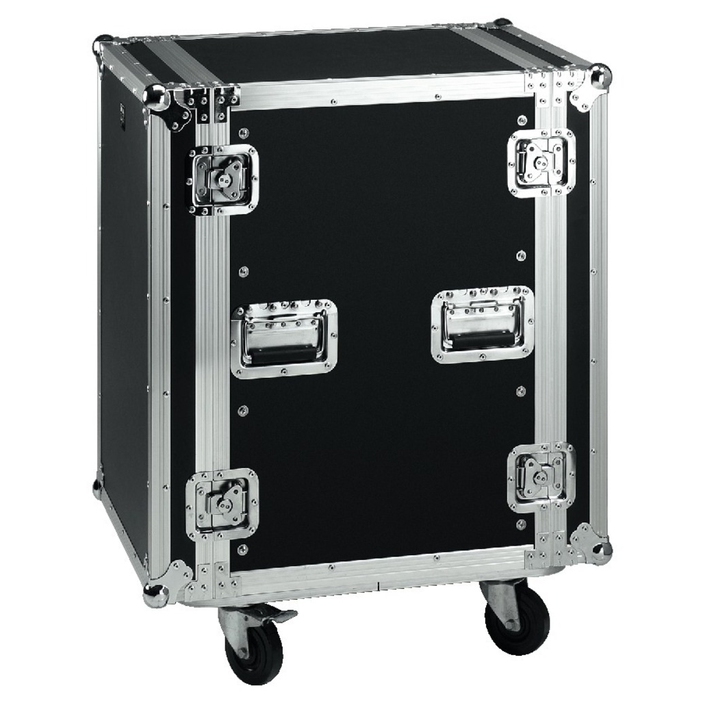Image of   Flightcase 16U Rack på hjul - MR-716
