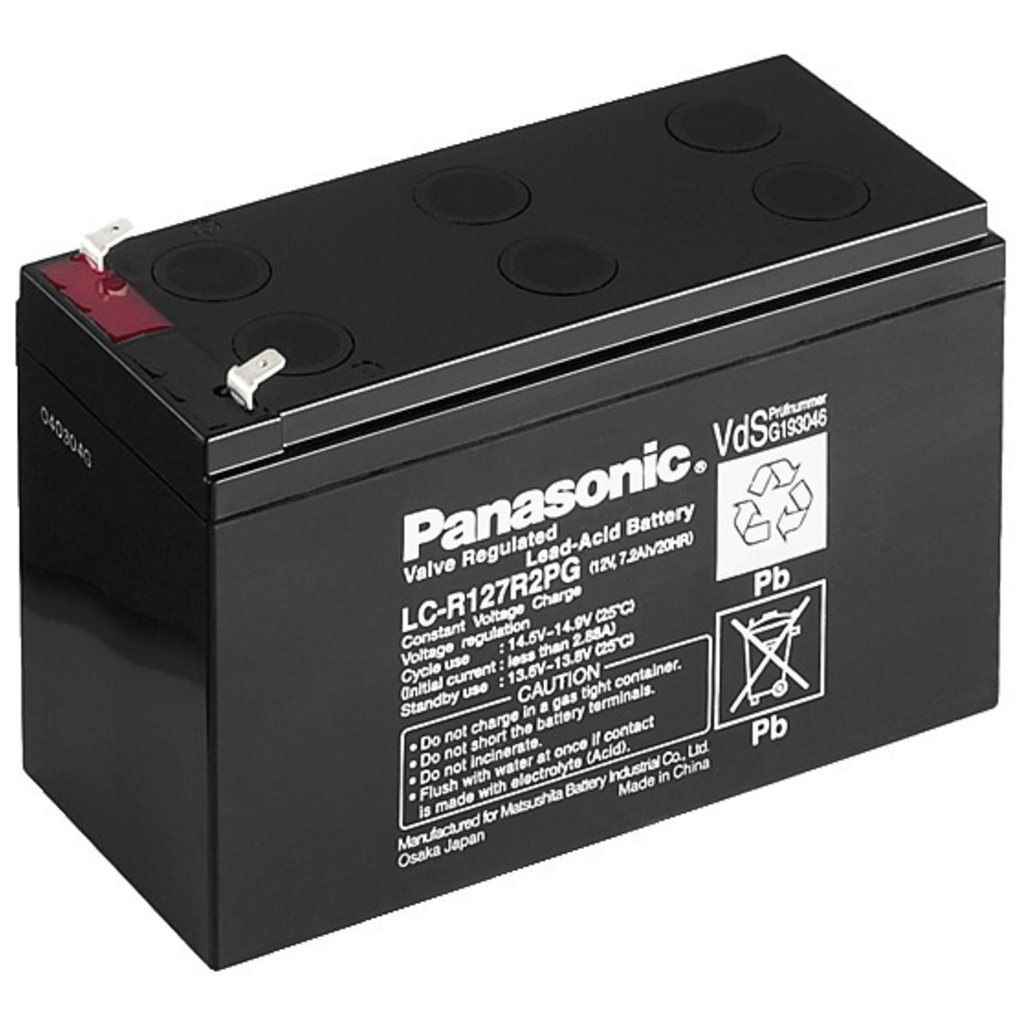 Batteripakke 14,4 aH 12 eller 24volt (2 stk batterier)