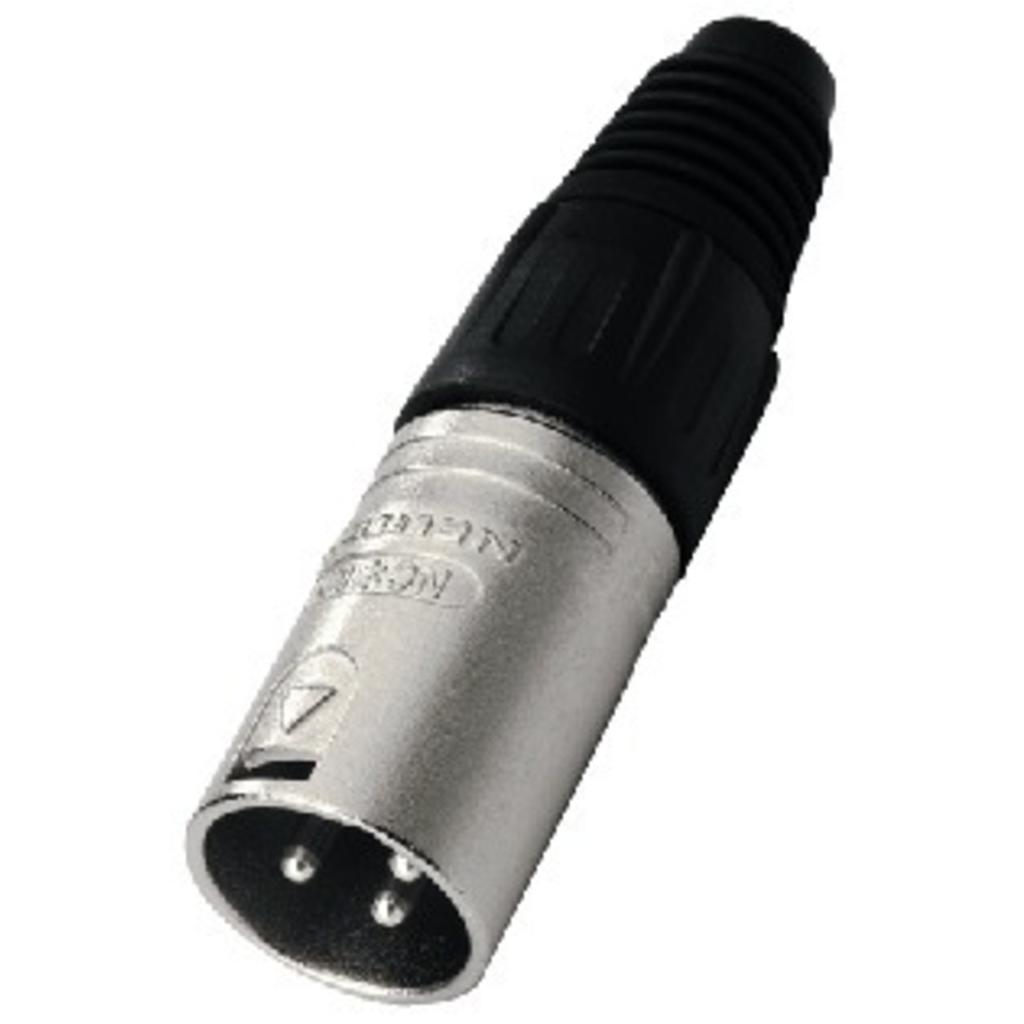 NC-3MX Neutrik XLR-stik han