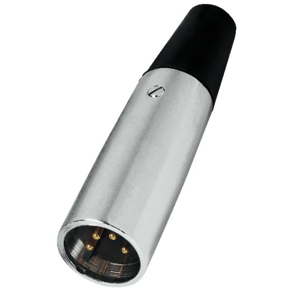 NC-504P XLR-stik 4-pol.