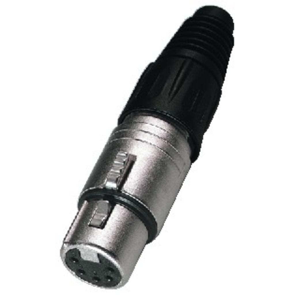 NC-5FX Neutrik XLR-stik 5-pol hun
