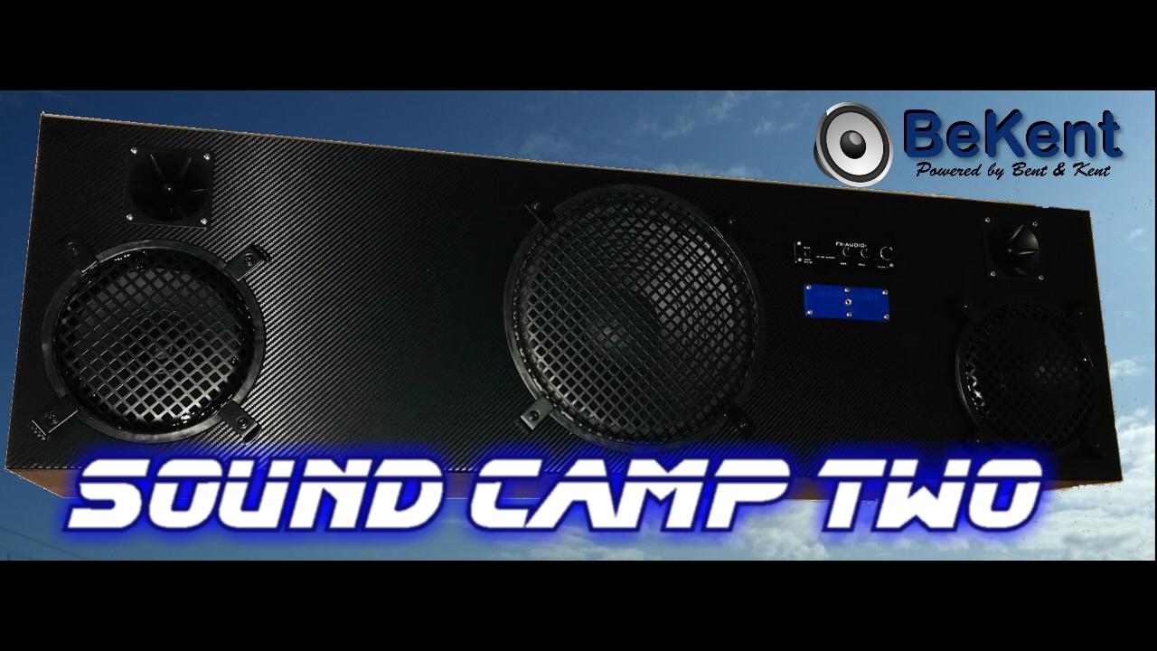 Festival sound camp Two 120 db - Højttaler/ festival byggesæt