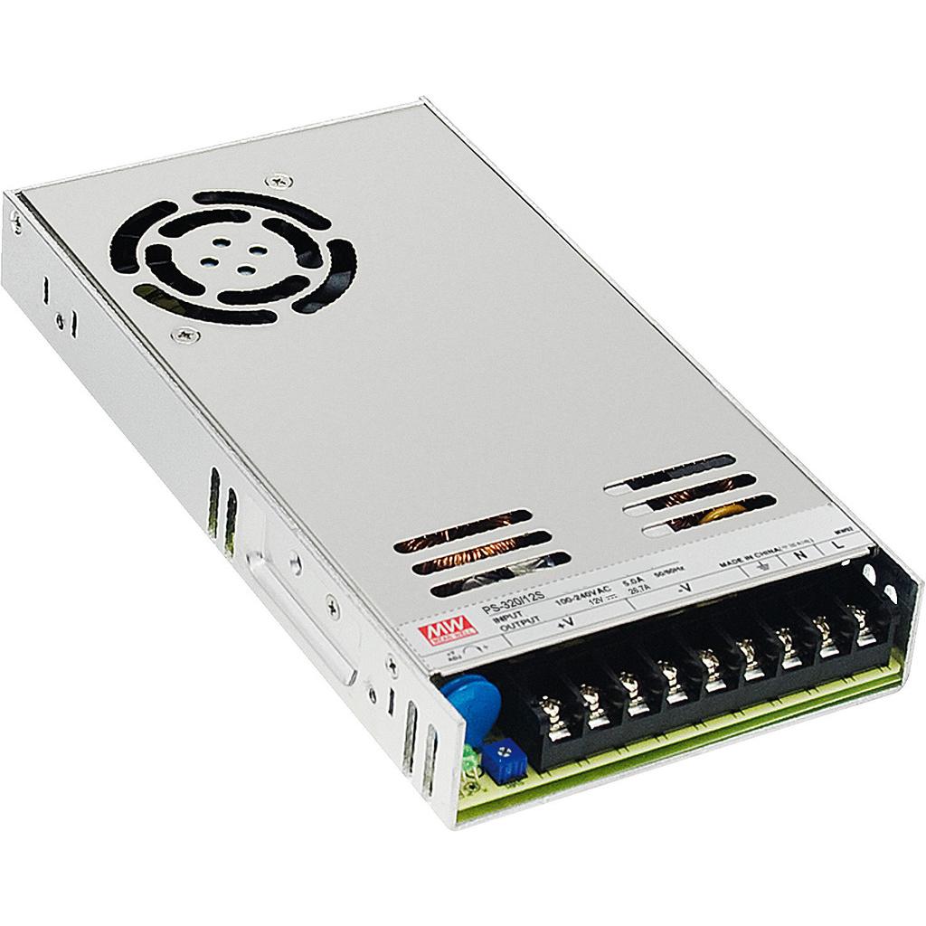 Strømforsyning til indbygning 12 volt PS-320/12S thumbnail