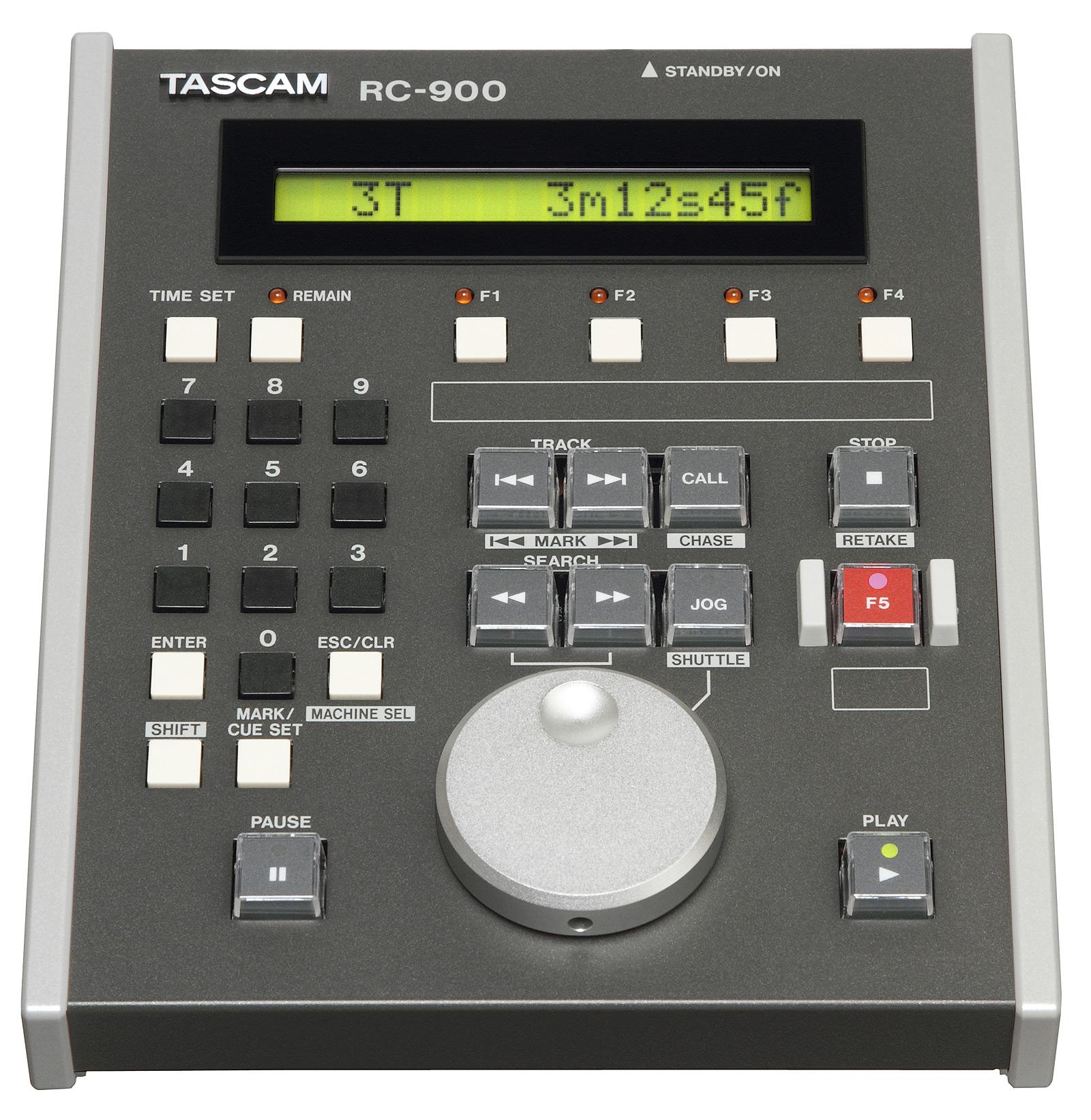 Tascam RC-900 Bord fjernbetjening til Tascam