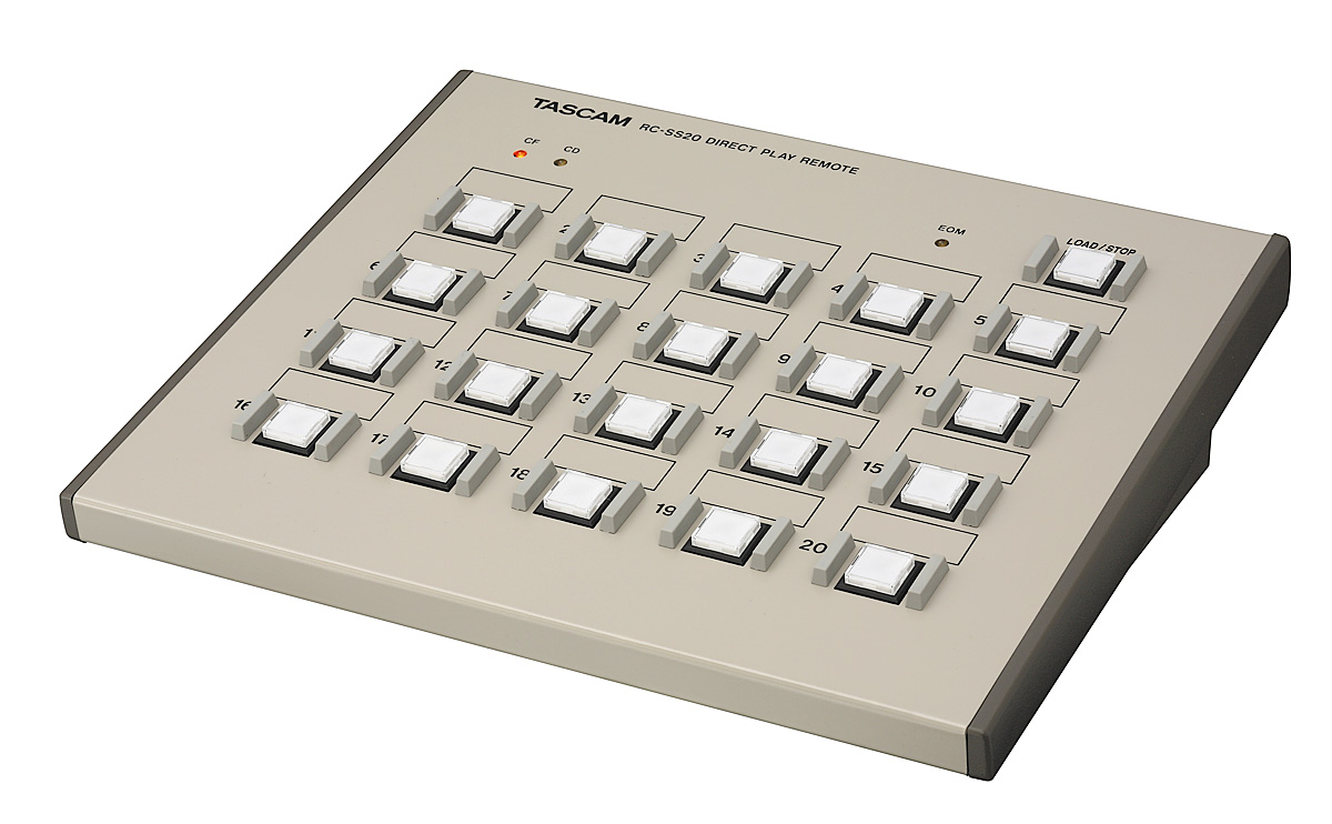 Tascam RC-SS20 Direct play controller til HD-R1 og SS-serien