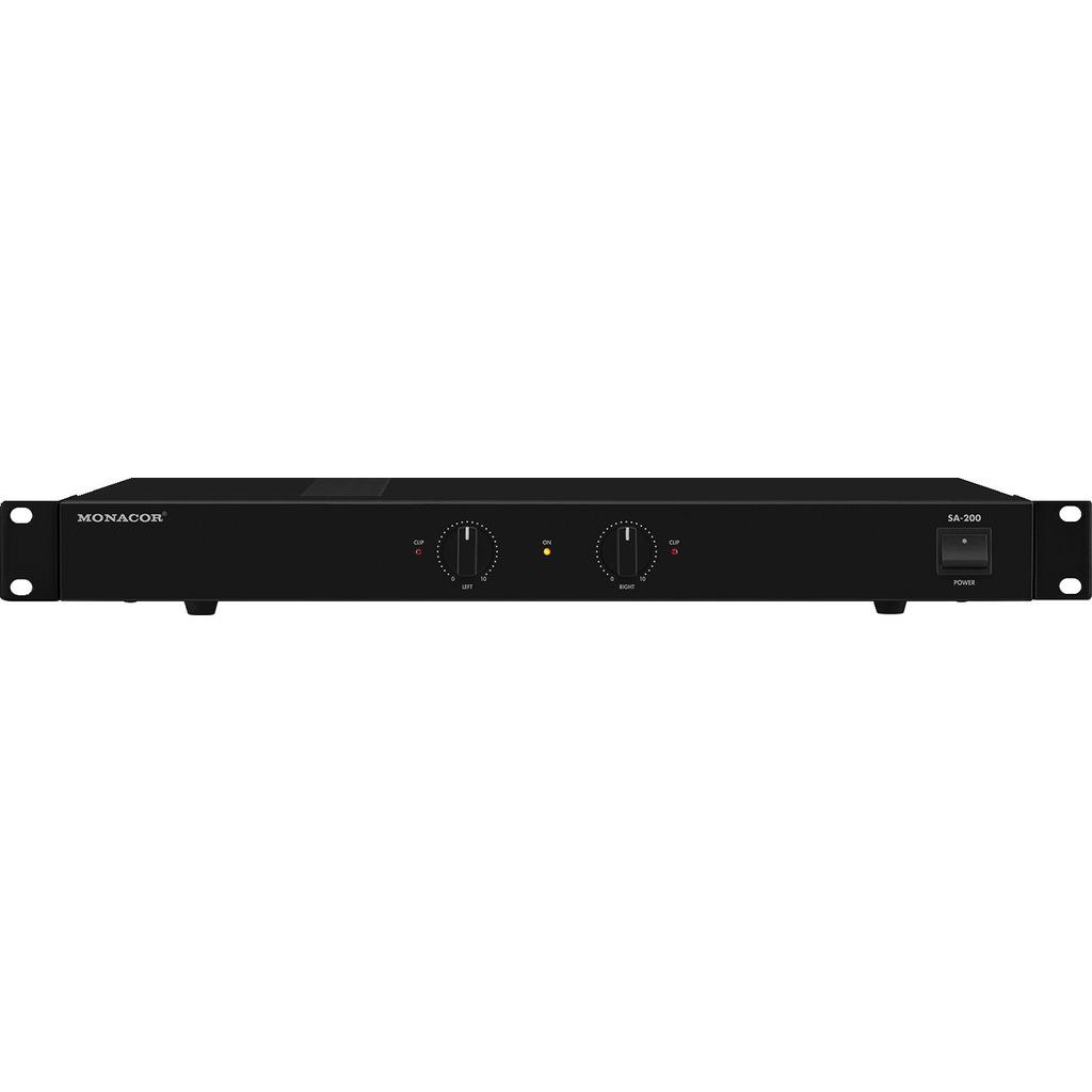 SA-200 Forstærker 2 x 100Wmax – Vellydende og kraftig Stereoforstærker