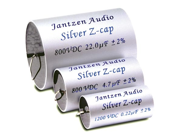 Billede af 0,33 uF 2 % Jantzen Ø 26 - 45 mm