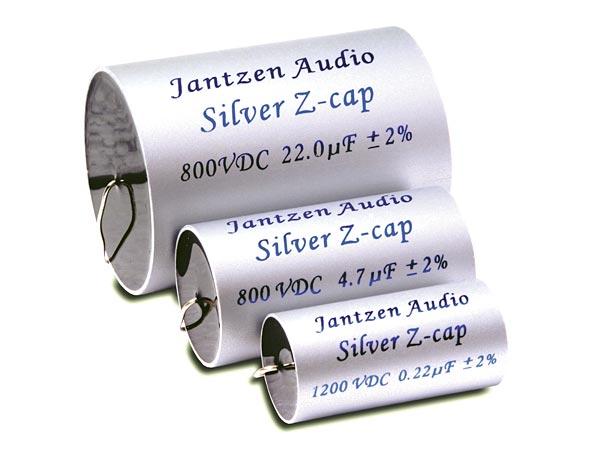 Image of 0,39 uF Silver Z-cap