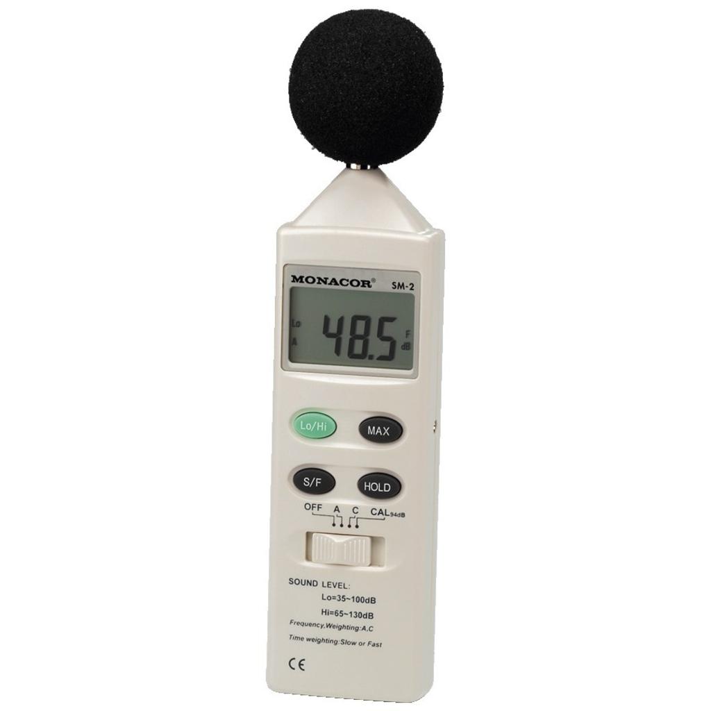 dB-måler - Lydtryk og støj måler håndholdt  SM-2