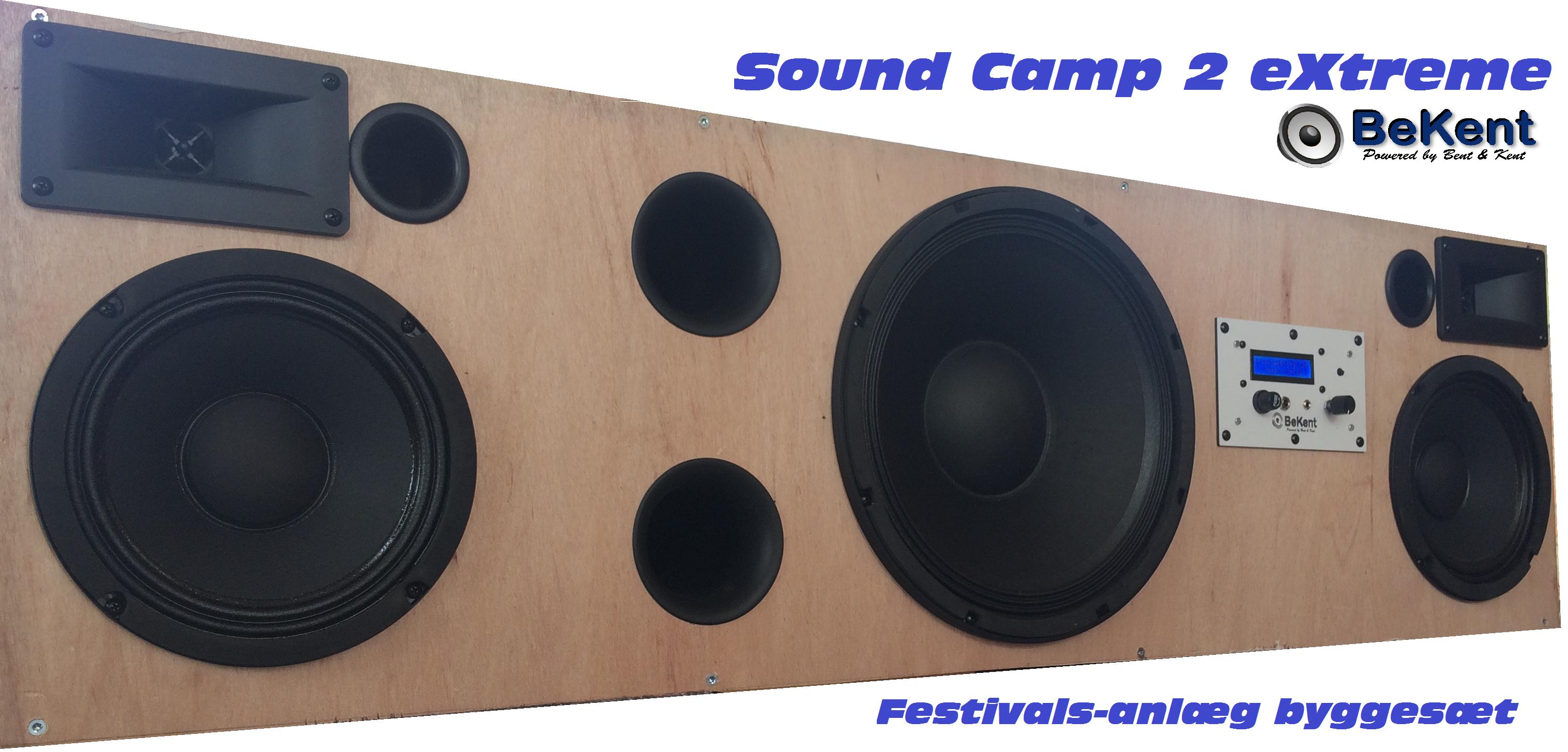 Sound Camp Two XB byggesæt – Højttaler byggesæt