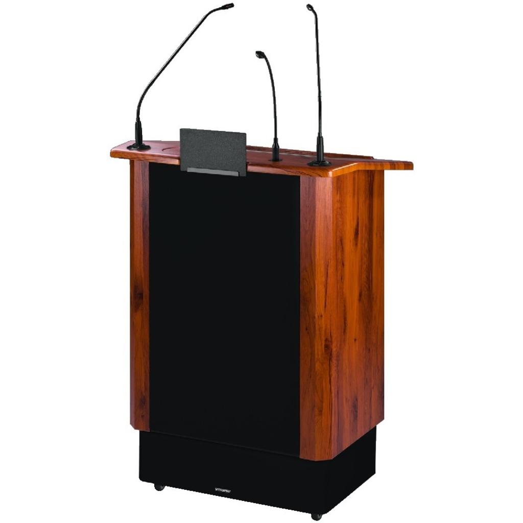 Talerstol med aktiv højttaler SPEECH-500 .