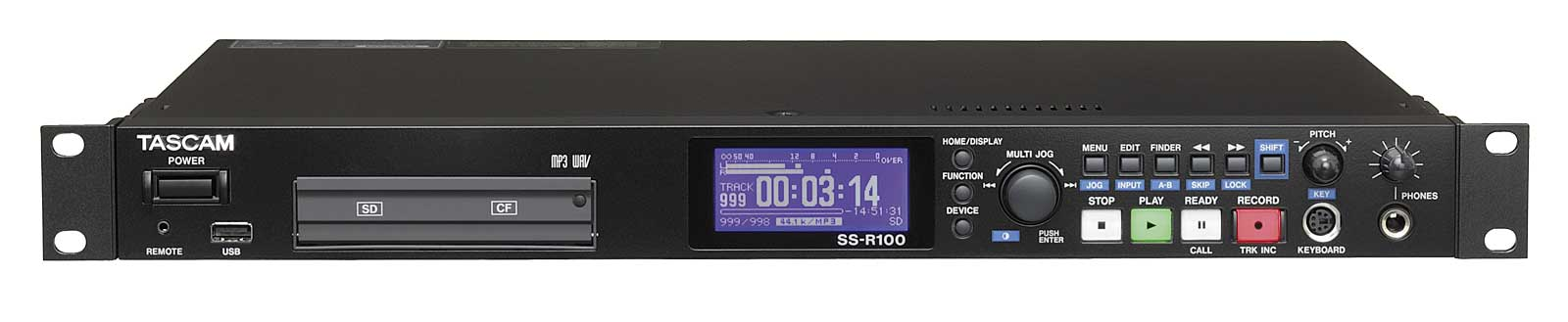 Tascam SS-R100 Harddisk Audio recorder WAW / MP3