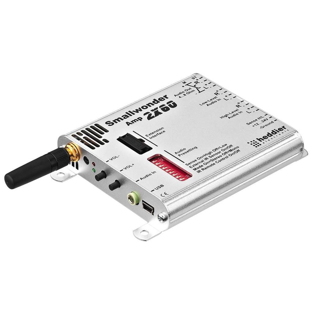 Mini forstærker med DSP - Bluetooth og 4 kanals DSP - SWA-2X60