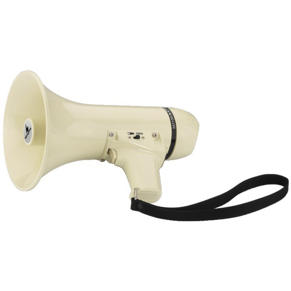Megafon med indbygget mikrofon 94 dB 8 watt - TM-6 thumbnail