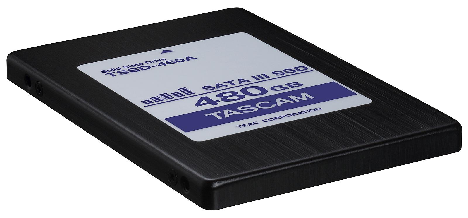 Tascam TSSD-480A SSD harddisk 480GB til DA-6400