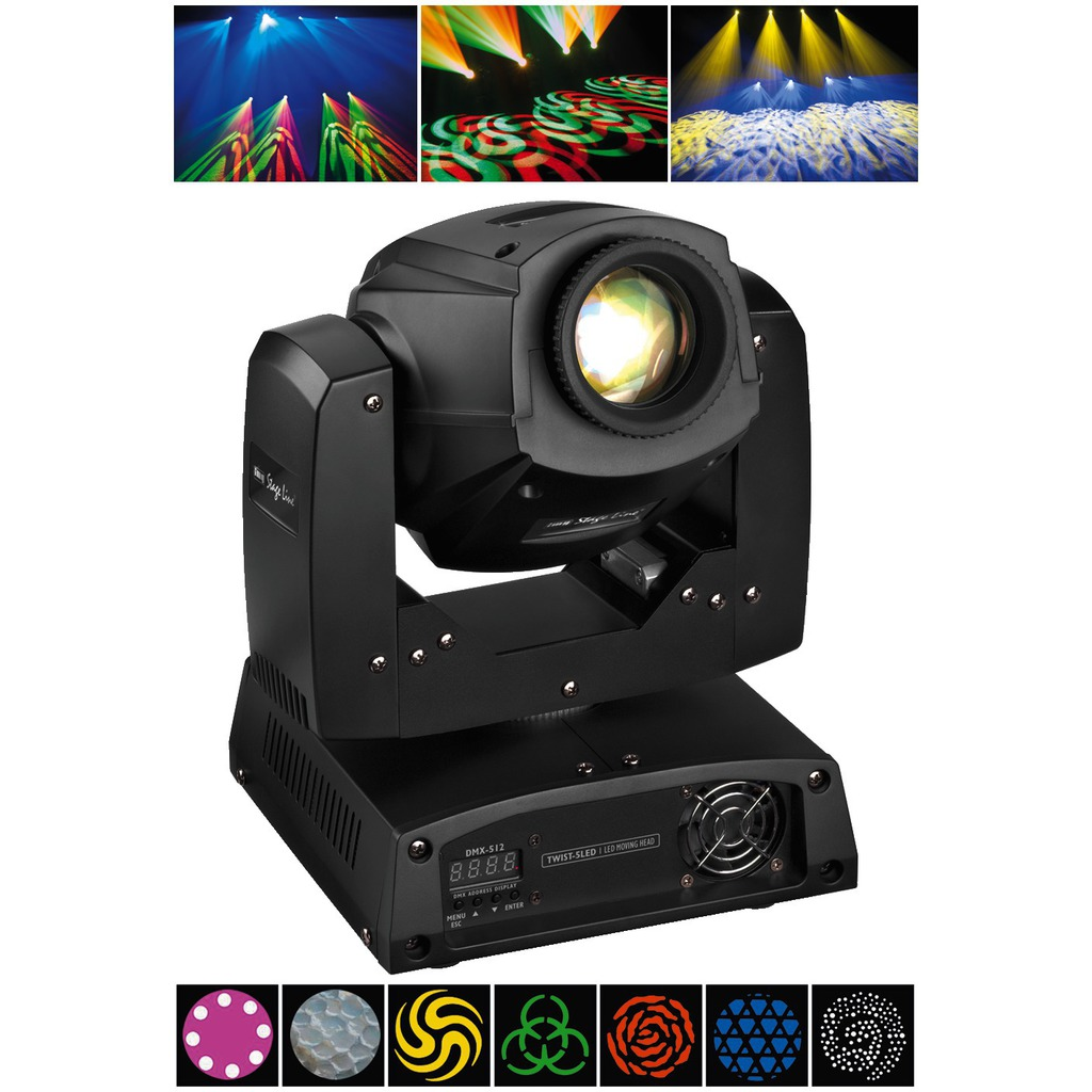 Billede af TWIST-5LED LED moving head