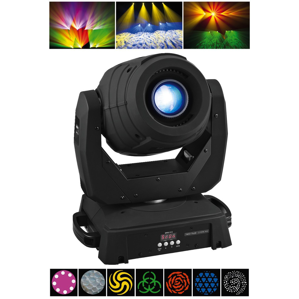 Billede af TWIST-75LED LED moving head