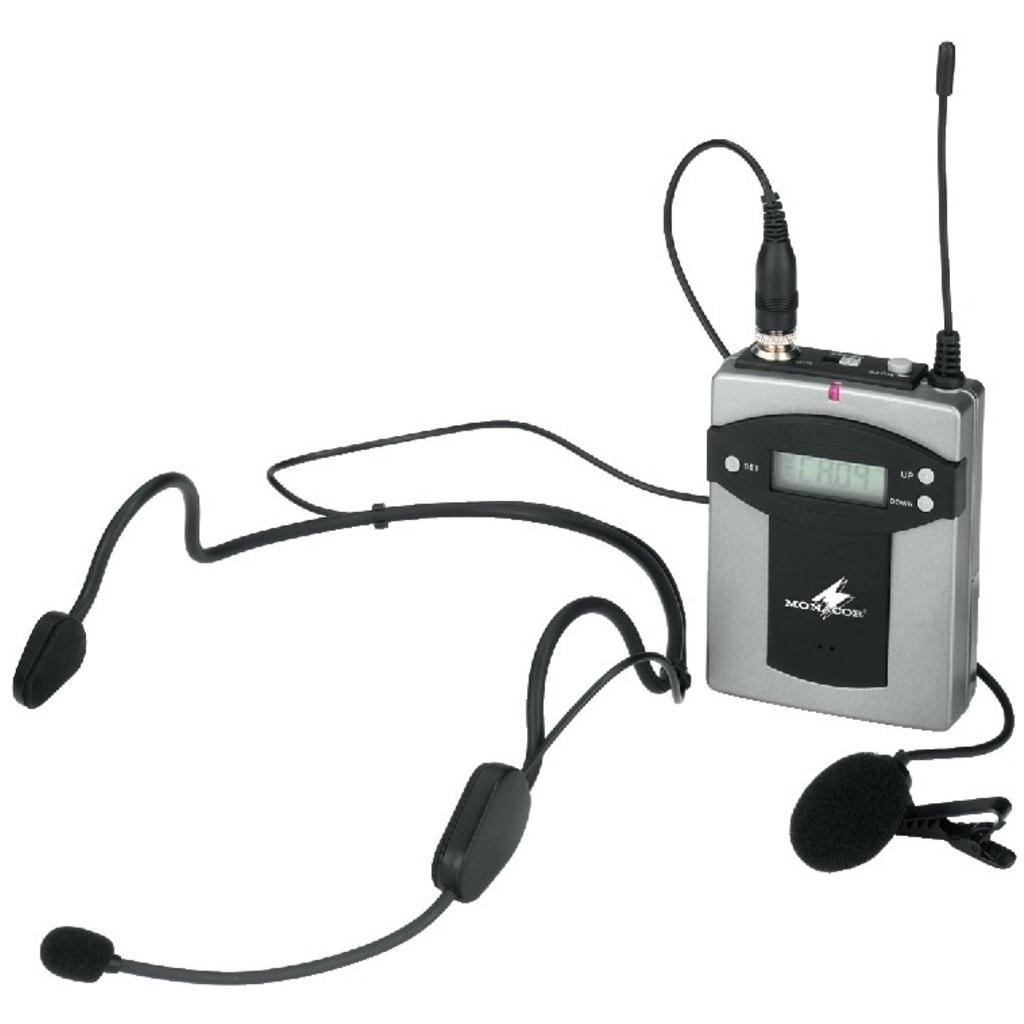 Lommesender til trådløse mikrofoner