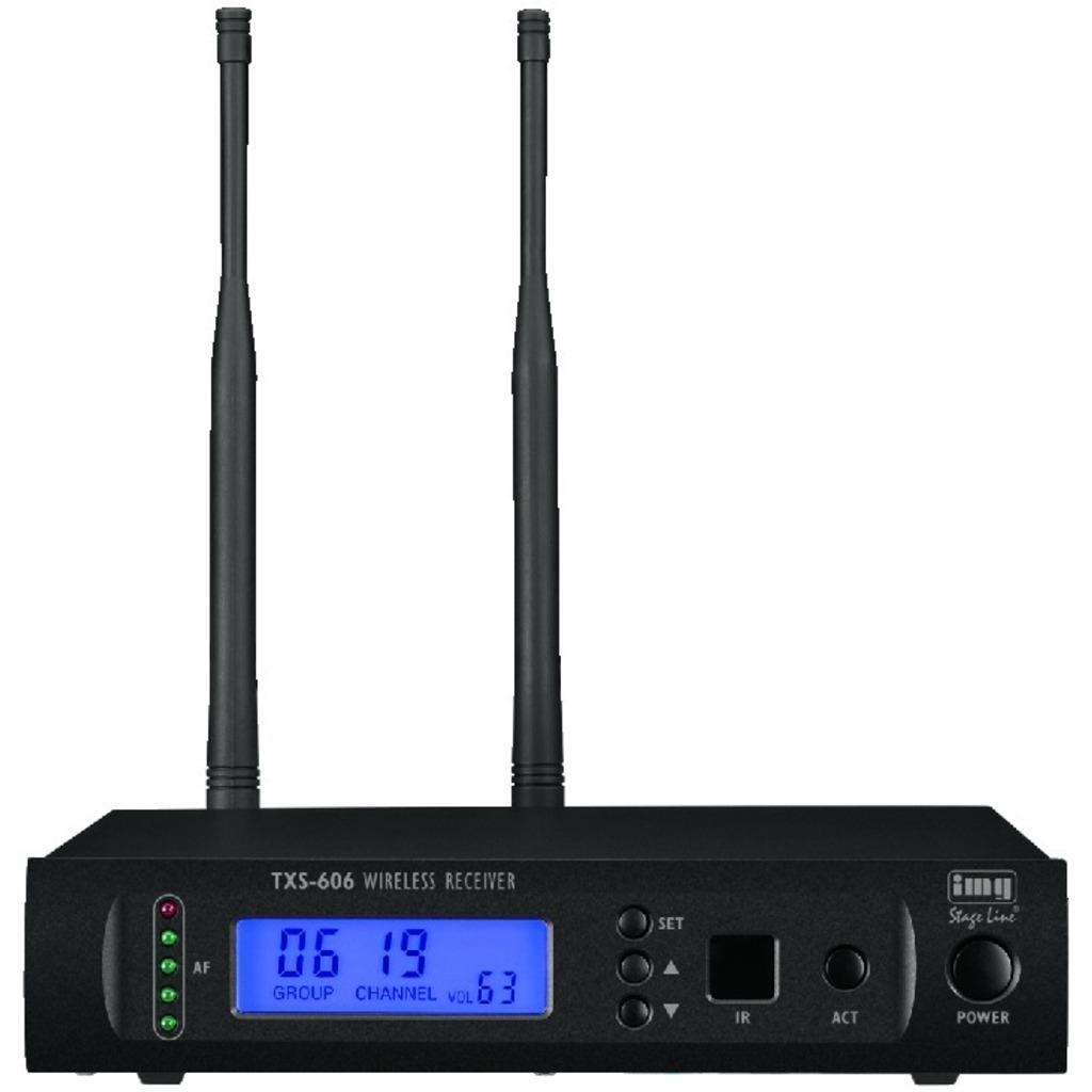 Trådløs mikrofon modtager til en mikrofon TXS-606