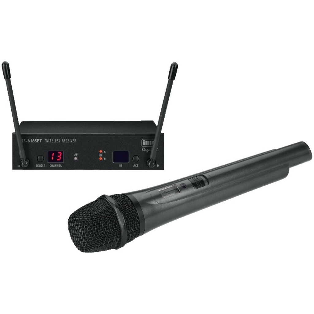 Trådløs mikrofonsæt TXS-616SET img stageline