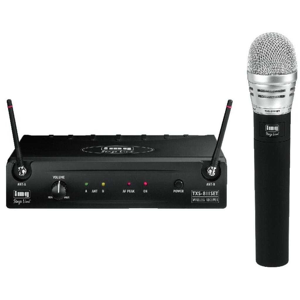 Trådløs mikrofonsæt med håndholdt mikrofon TXS-811SET