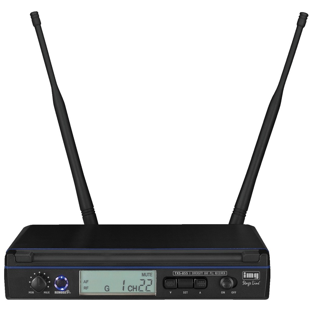 Trådløs mikrofon Modtager 506-542 Mhz TXS-855