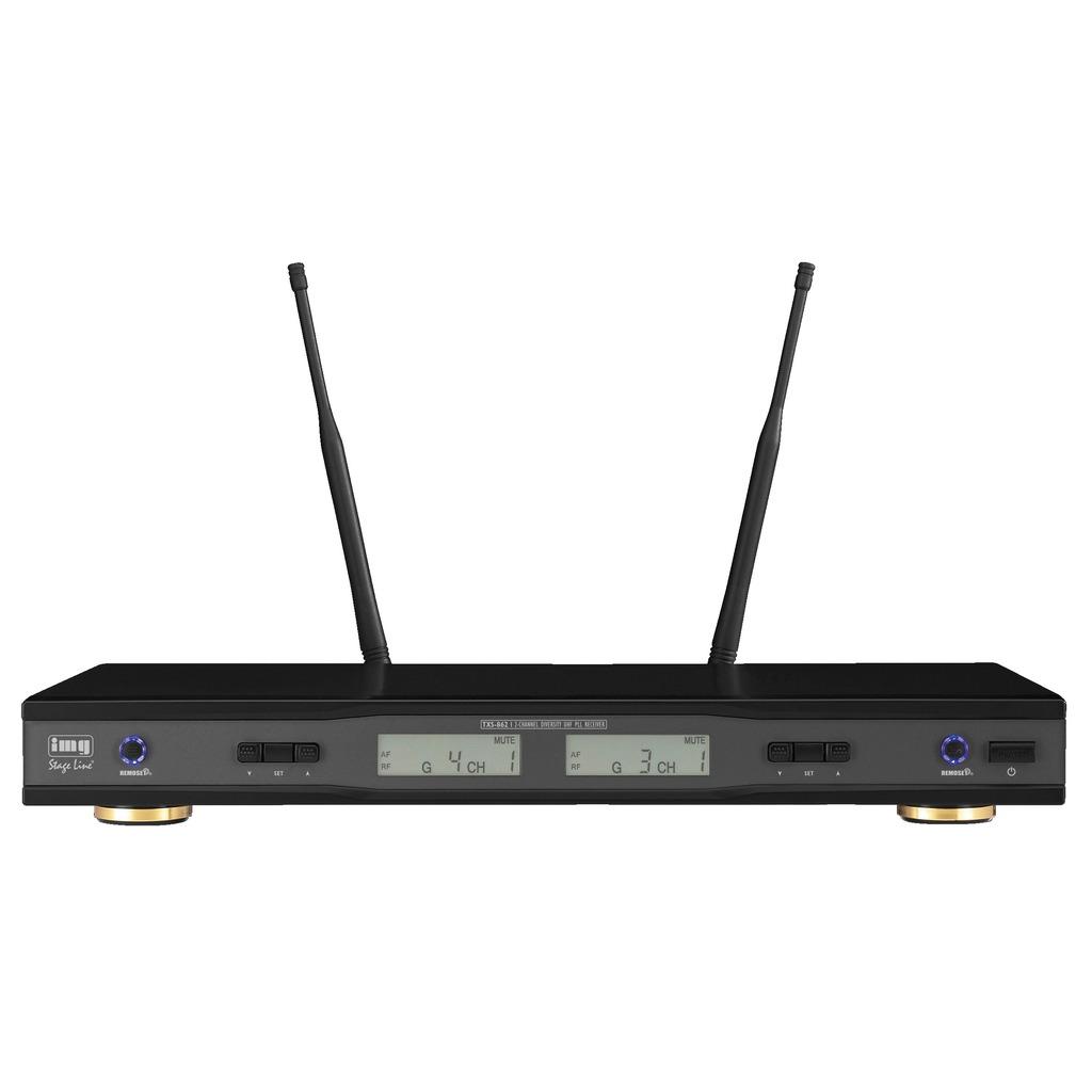 TXS-862 Trådløs mikrofon modtager 2-kanals